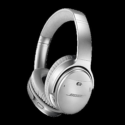 BOSE QUIETCOMFORT35Ⅱ 无线蓝牙头戴式降噪耳机 银色