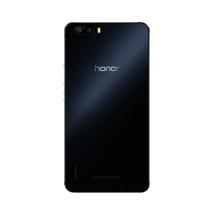 荣耀6 Plus 双卡双待双通 移动/联通双4G版 32GB存储(黑色)