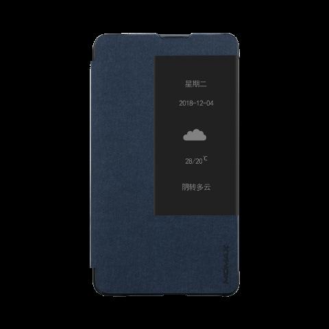 MOMAX 华为mate20X保护套 内置笔槽 4G/5G版通用(蓝色)