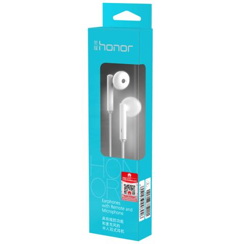 荣耀 AM115 半入耳式耳机 (白色)