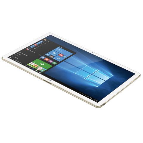 (华为)HUAWEI MateBook 12英寸平板二合一笔记本电脑(Intel core m5 4GB内存 128GB存储 Win10 内含键盘不含手写笔和扩展坞)香槟金