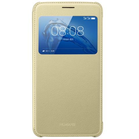 HUAWEI G9 Plus/麦芒5 智能开窗保护套(金色)