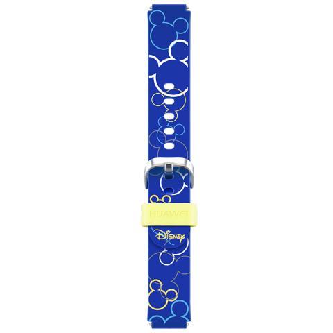 华为儿童手表表带 米奇款(奇幻蓝)