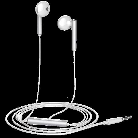 华为AM116半入耳式耳机金属版(白色)