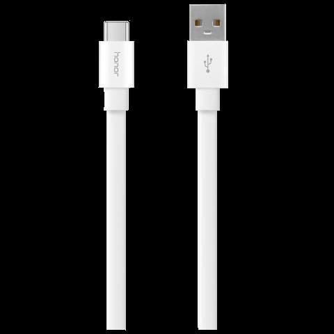 荣耀 Type C 多彩数据线(白色)