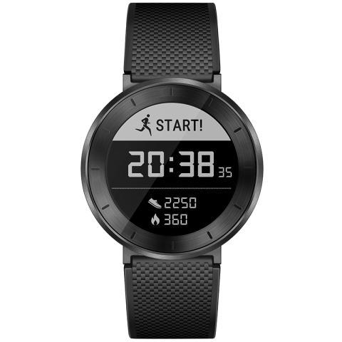 荣耀手表 S1 表体(深空灰)+长腕带(黑色)