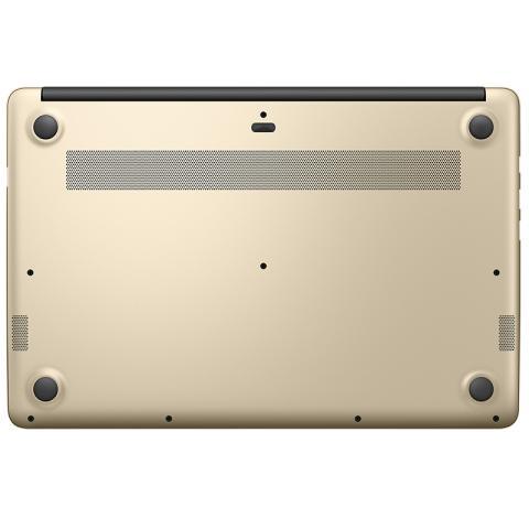 (华为)HUAWEI MateBook D 15.6英寸轻薄窄边框笔记本电脑( i5-7200U  4G 500G 940MX 2G独显 FHD Win10)香槟金