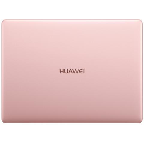 (华为)HUAWEI MateBook X 13英寸轻薄笔记本电脑(i5-7200U 8G 256G Win10 内含拓展坞)玫瑰金