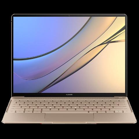 (华为)HUAWEI MateBook X 13英寸轻薄笔记本电脑 流光金 (I5/4GB/256GB)