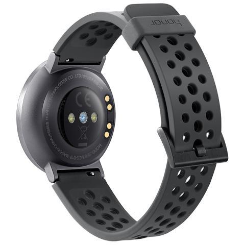 荣耀手表 S1 表体(深空灰)+运动腕带(灰色)