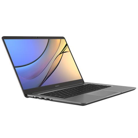 (华为)HUAWEI MateBook D 15.6英寸轻薄窄边框笔记本电脑( i5-7200U  4G 128G SSD+500G FHD Win10)深空灰