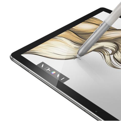 (华为)HUAWEI MateBook 12英寸平板二合一笔记本电脑(Intel core m7 8GB内存 512GB存储  Win10 内含键盘、手写笔和扩展坞)太空灰
