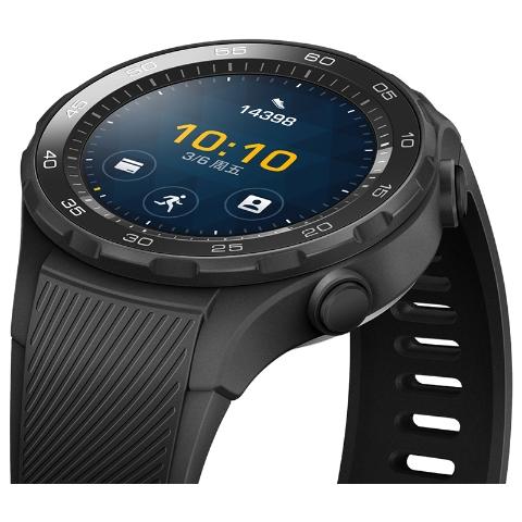 HUAWEI WATCH 2 华为第二代智能运动手表 蓝牙版(碳晶黑)