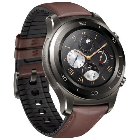 HUAWEI WATCH 2 Pro华为新款智能手表 4G版(钛银灰)