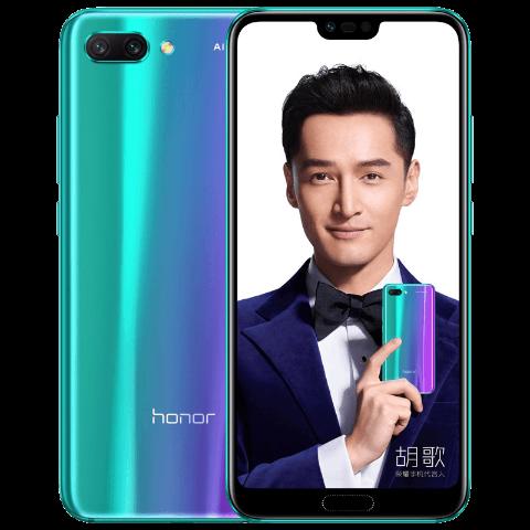 荣耀10 AI摄影手机 6GB+64GB 幻影紫 全网通