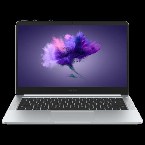 荣耀MagicBook 锐龙版 14英寸轻薄笔记本电脑 Ryzen R5-2500U 8GB 256GB(冰河银)