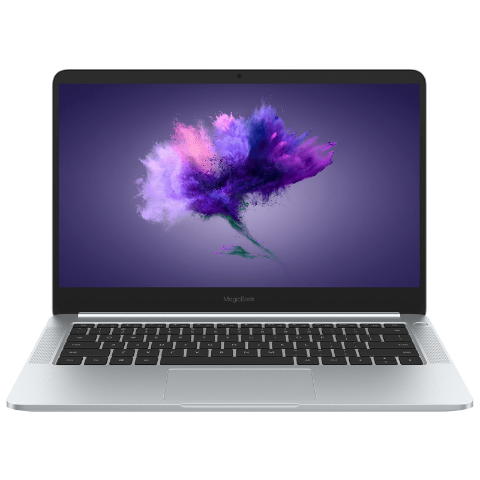 荣耀MagicBook 锐龙版 14英寸笔记本 R5 8+256GB 冰河银
