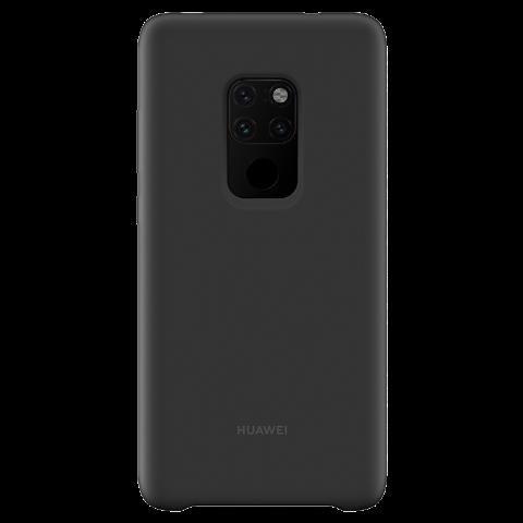HUAWEI Mate 20 硅胶保护壳 (黑色)
