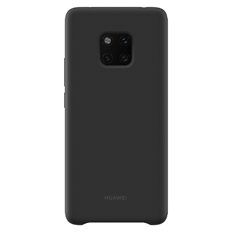 HUAWEI Mate 20 Pro 硅胶保护壳 (黑色)