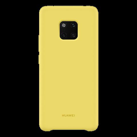 HUAWEI Mate 20 Pro 硅胶保护壳 (柠檬黄)