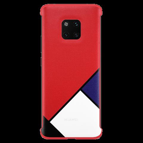 HUAWEI Mate 20 Pro 抽象主题保护壳 (红色)