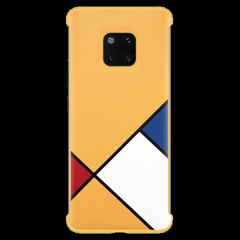 HUAWEI Mate 20 Pro 抽象主题保护壳 (黄色)