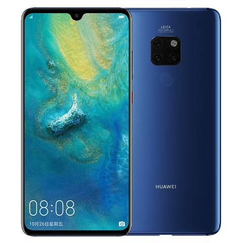 HUAWEI Mate 20 6GB+128GB 全网通版(宝石蓝)