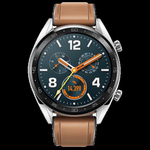 HUAWEI WATCH GT 强劲续航 智能提醒 移动支付 健康管理 时尚款 (钢色)