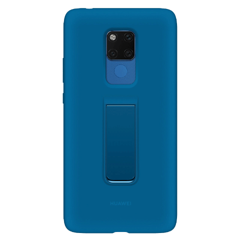 HUAWEI Mate 20 X(4G)硅胶支架保护壳 (蓝色)