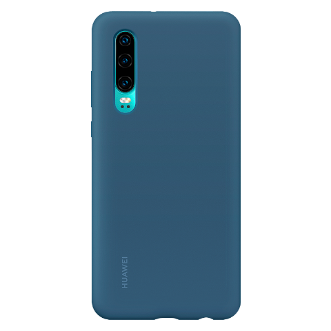 HUAWEI P30 硅胶保护壳 (蓝色)