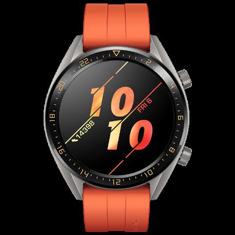 HUAWEI WATCH GT 强劲续航 智能提醒 移动支付 健康管理 活力款(橙色)