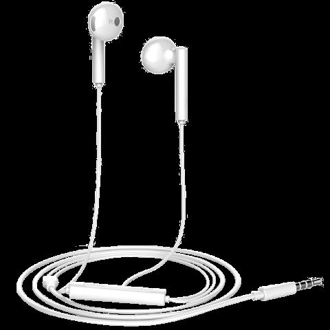 华为 AM115 半入耳式耳机(白色)