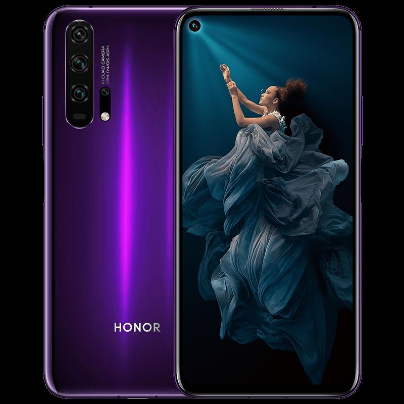 25日10点: HONOR 荣耀20 PRO 智能手机 8GB+128GB
