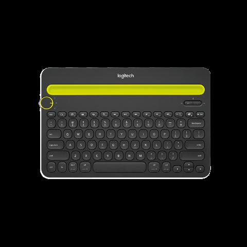 罗技K480无线蓝牙键盘 黑色