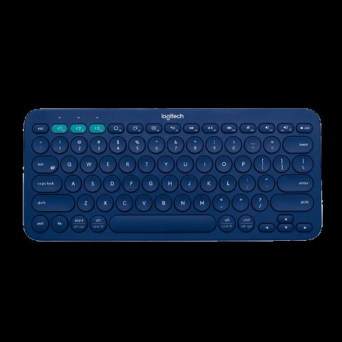 罗技K380无线蓝牙键盘 蓝色