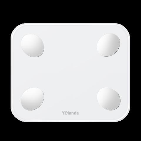 Yolanda云康宝CS20H智能体脂秤体重秤 白色