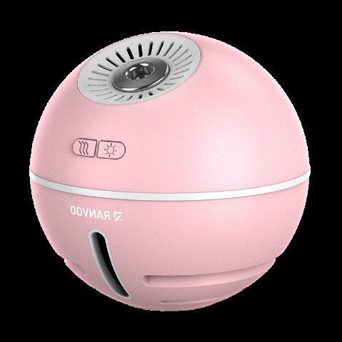 锐舞(RANVOO)迷你充电式加湿器 MEHD05 粉色