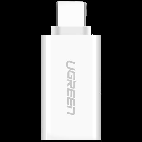 绿联 USB TYPE C公转USB3.0母转接头