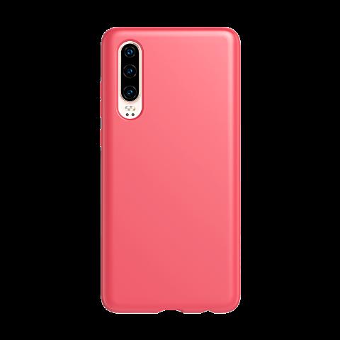 Tech21 Huawei P30 防摔抗菌轻薄款保护壳(牡丹红)