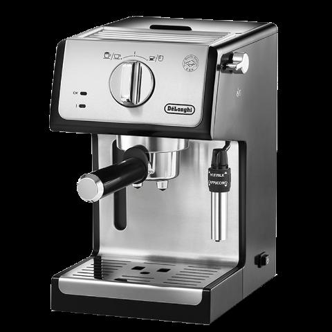 Delonghi/德龙 泵压式半自动咖啡机 ECP35.31 银色