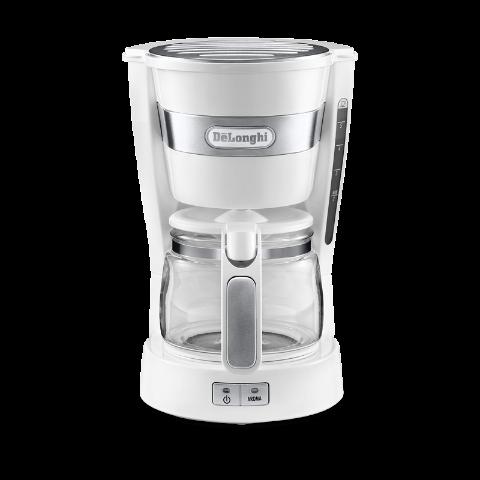 Delonghi/德龙 家用大容量滴滤式咖啡机 ICM14011.W 白色