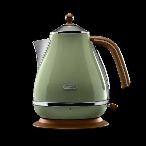 Delonghi/德龙 复古早餐系列电热水壶 KBOV2001 橄榄绿