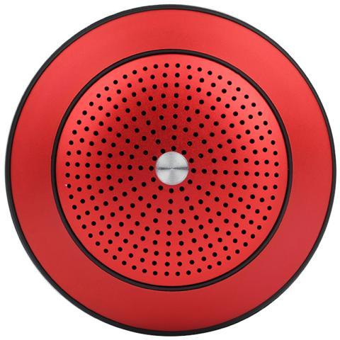 耐翔 UFO 双震膜蓝牙音箱(红色)