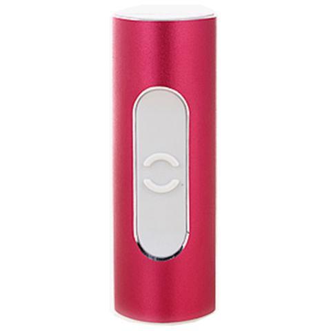 跃活F2系列金属款电子点烟器 带8G U盘功能(紫红色)