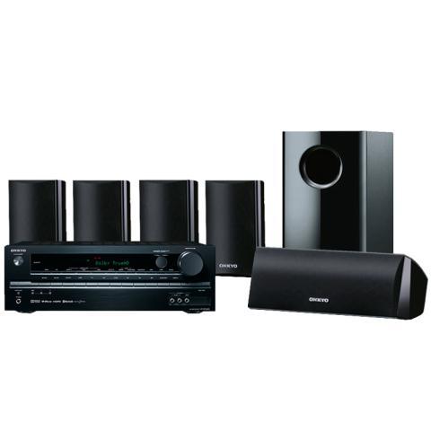Onkyo HT-S302 5.1家庭影院音响套装(黑色)