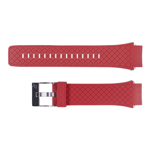 BRASPORT 氟橡胶表带 配HUAWEI WATCH 2(红色)
