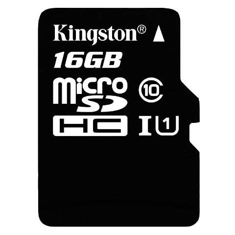 金士顿(Kingston)16GB 80MB/s TF(Micro SD)Class10高速存储卡