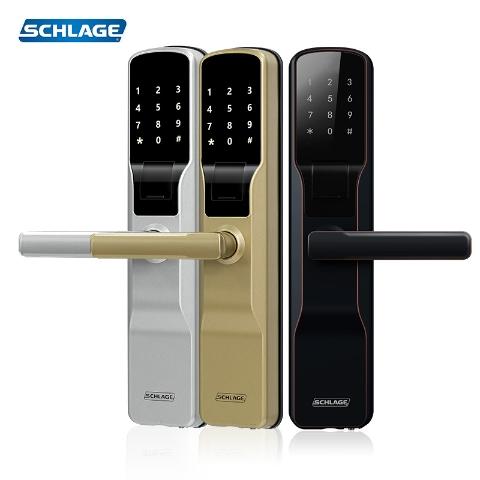 西勒奇智能指纹锁SE201V(油墨古铜)(支持HUAWEI HiLink)