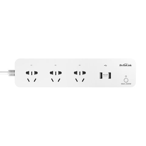 BroadLink博联智能分控带USB插排MP1-1K3S2U-TL