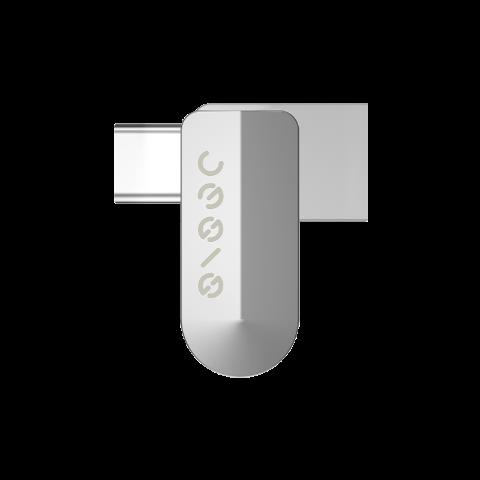 荣耀亲选生态产品 指思双接口手机U盘H1 32GB(冰河银)